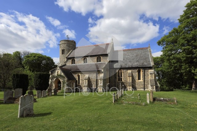 St Peters parish church, Snailwell village, Cambridgeshire
