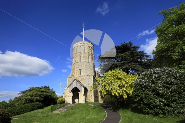 St Marys church, Swaffham Prior village, Cambridgeshire; England