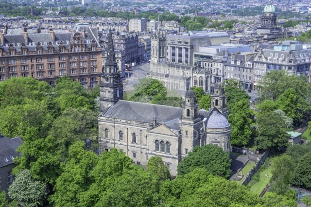 A View from Edinburgh Castle