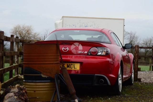 Abandoned Mazda RX