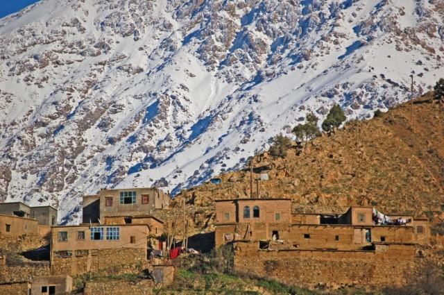 Village In Atlas Mountains
