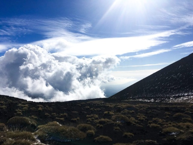 A view from Mount Etna