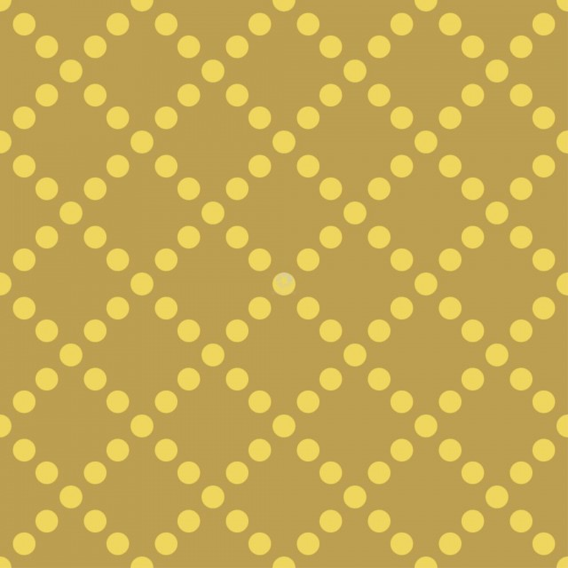 Pattern from yellow dots on dark seamless background