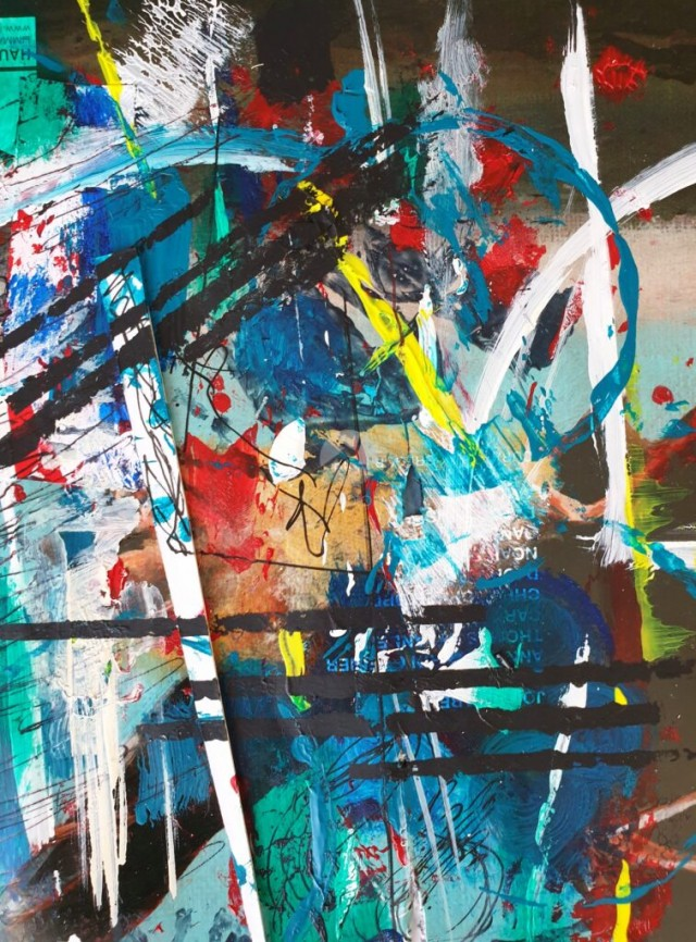 Abstract painting