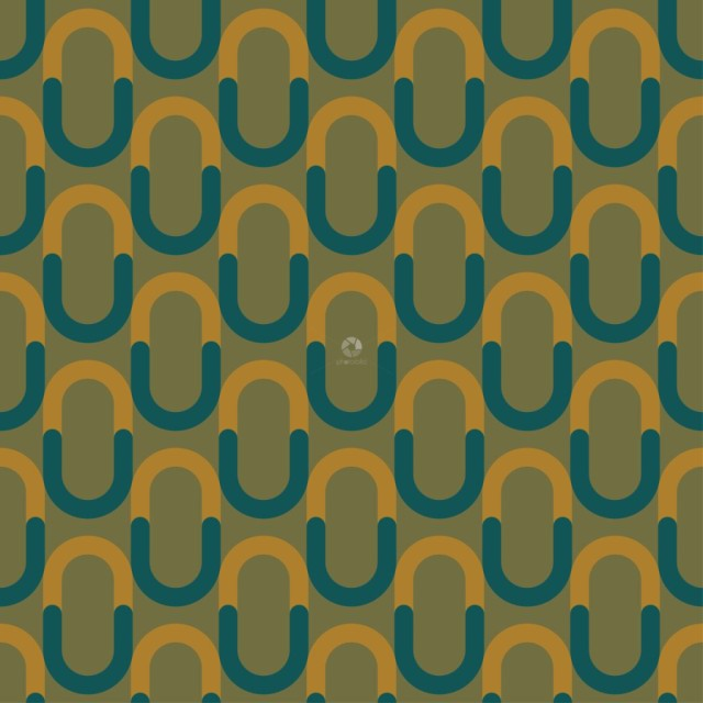 Pattern from yellow and blue on green seamless background