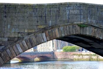 the old bridge, ayr, scotland