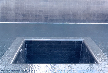 Ground Zero Memorial Waterfall