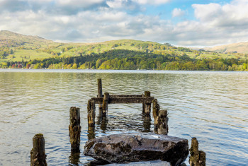Jetty on Lake Windermere