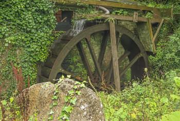 Water Wheel – Melinsey Mill