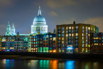 Colours at St Pauls Blue Hour-2342