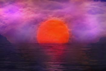Sunrise with vignette final