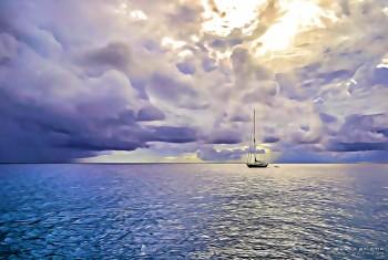 Sailboat-St Barts