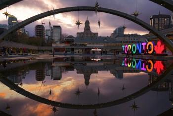 Toronto reflection