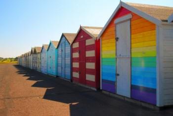 Beach huts watermarked