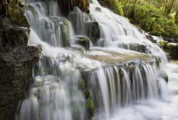 Waterfall Cladagh Glen.