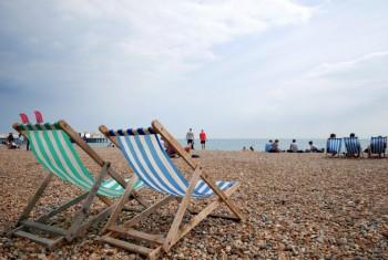 Stripey Deckchairs, Brighton